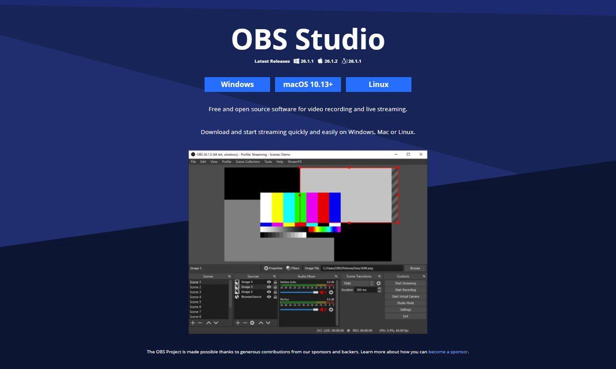 آموزش OBS Studio